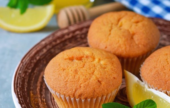 Muffins coeur coulant citron