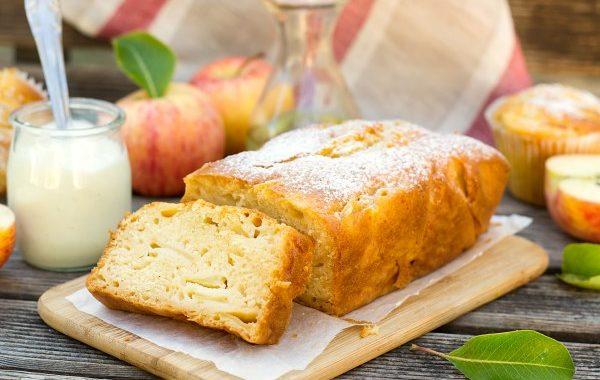 Gâteau au Flamby et aux pommes