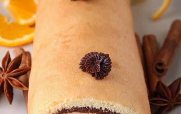 Gâteau roulé au chocolat de Mémé Raymonde