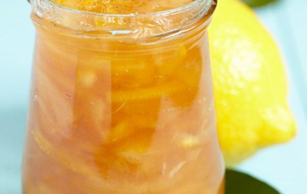Citrons doux en marmelade