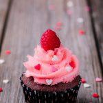 Cupcake au coeur fondant chocolaté