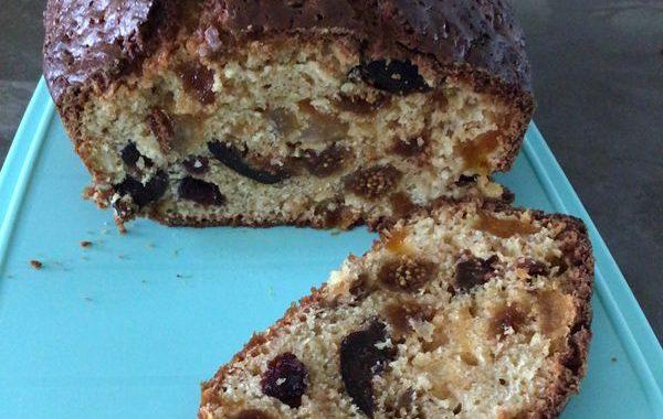 Cake plein d'énergie aux fruits secs
