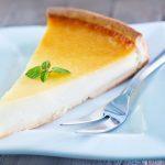 Tarte au fromage blanc et crème épaisse