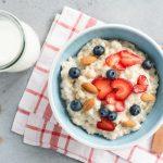 Porridge aux fraises au Cookéo