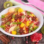 Salade de fruits de noël