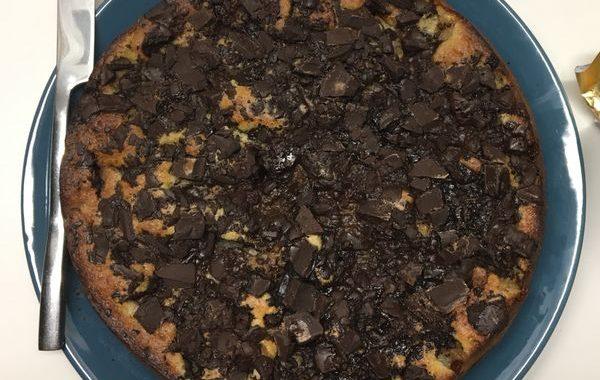 Le moelleux gourmand poires-chocolat