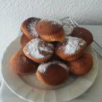 Muffins smarties – chocolat blanc-coeur nutella