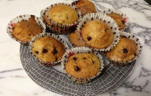 Muffins allégés aux pépites de chocolat