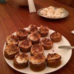 Cupcakes au potimarron et aux noix