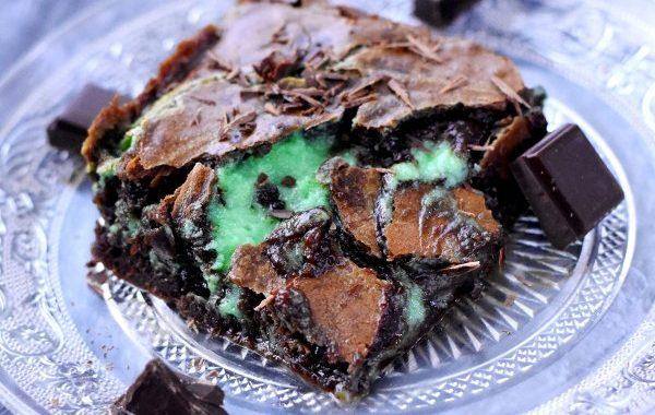 Brownie menthe chocolat