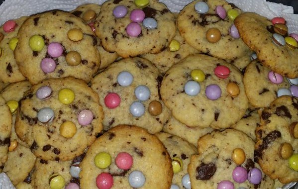 Cookies aux smarties