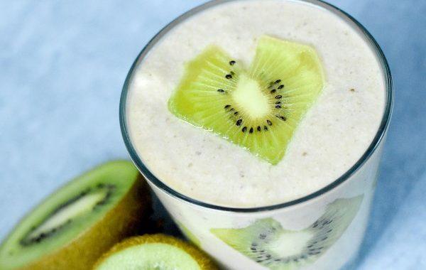 Mousse banane et kiwi