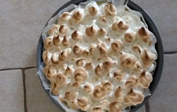 Gâteau meringué glacé