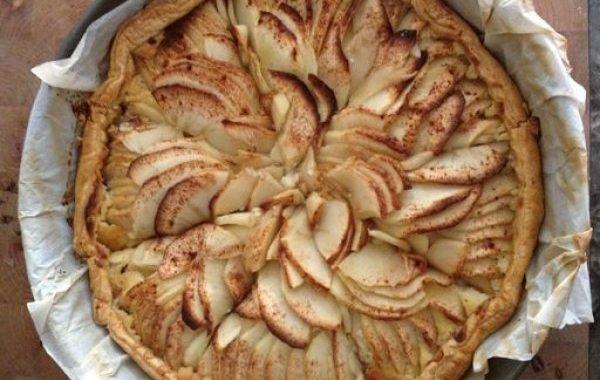 Tarte aux pommes gourmandes
