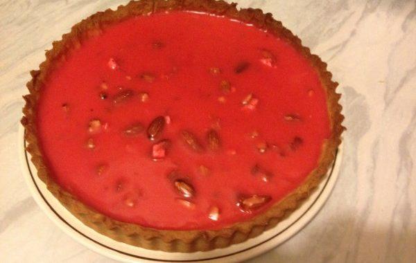 Véritable tarte à la praline