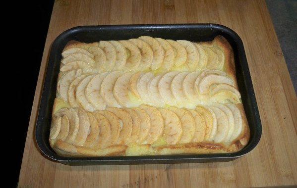 Brioché de pommes à la nonna