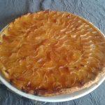 Tarte fine aux pommes et beurre salé cloclo