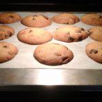 Cookies aux deux chocolats (blanc et noir), vanille et fleur d'oranger