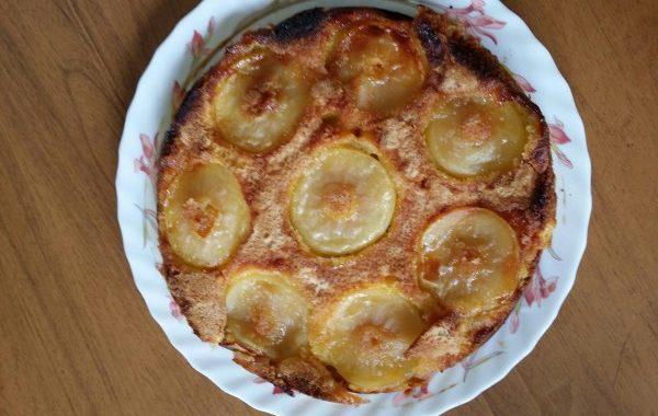 Gâteau à la pomme ultra facile