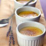 Crème brûlée au miel de lavande