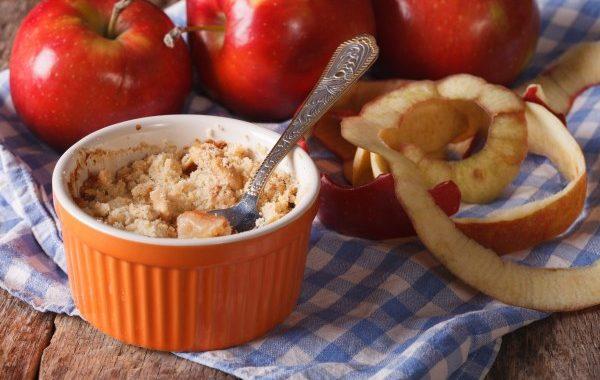 Amour de crumble aux pommes