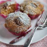Muffins carottes, noix de pécan et sirop d'érable