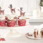 Cupcakes aux noisettes et cœur fondant au Nutella®