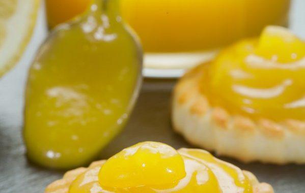 Douceur sablée au lemon curd