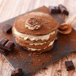 Mille-feuille de pancakes au chocolat