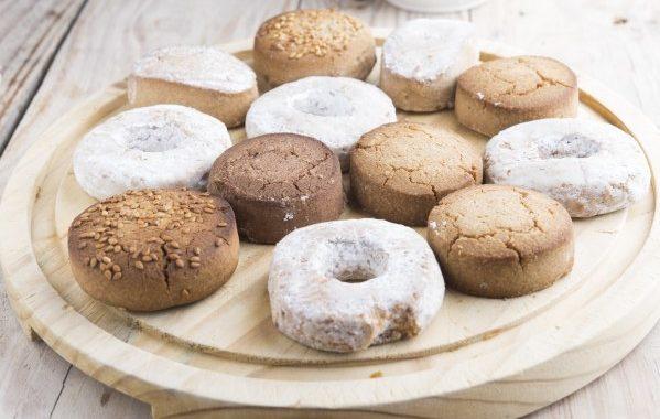 Mantecaos à la cannelle (biscuits marocains)