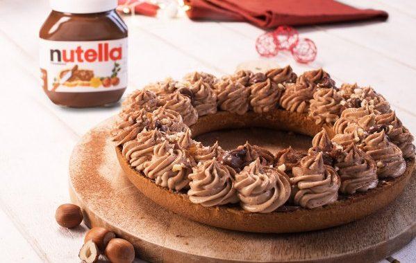 Gâteau au Nutella® façon Paris-Brest