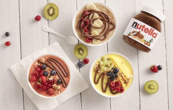 Smoothies bowls au Nutella®