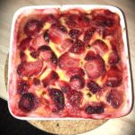 Gratin aux fruits rouges