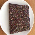 Gâteau au thés bruns