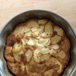 Gâteau aux pommes façon normande