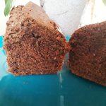 Gâteau au chocolat râpé et noix de coco