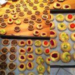 Mini tartelettes aux chocolats et fruits