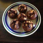 Friands au chocolat noir et aux amandes