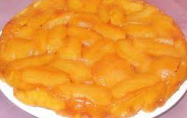 Tatin de pain aux pommes