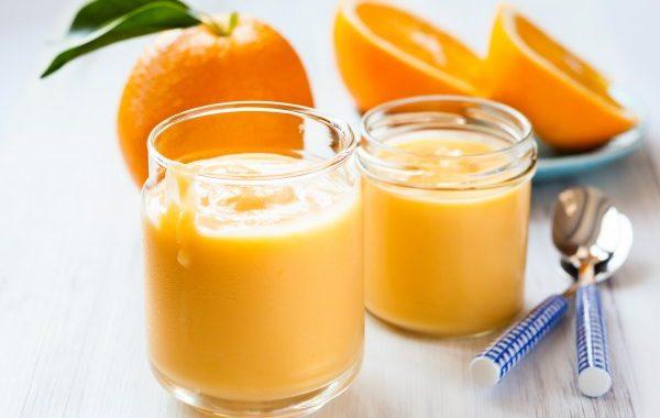 Crème anglaise à l'orange