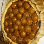 Tarte prunes Nutella