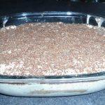 Tiramisu au chocolat noir