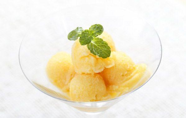 Crème glacée au melon