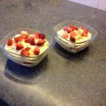 Parfait aux fraises ou autres fruits