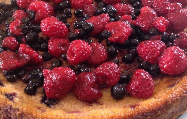 Cheese-cake aux fruits rouges