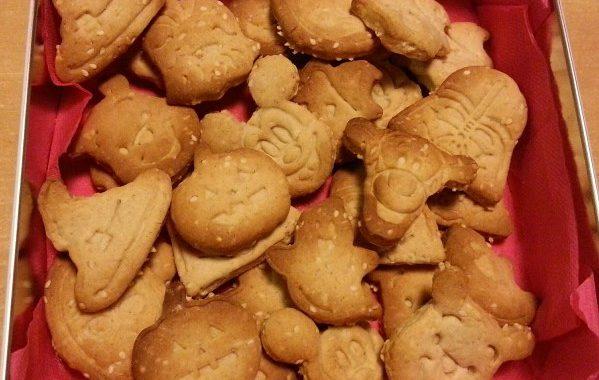 Biscuits au sésame, citron et cannelle