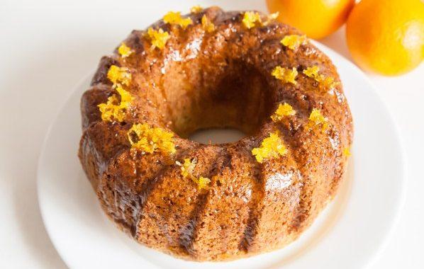 Gâteau à l'orange sans beurre