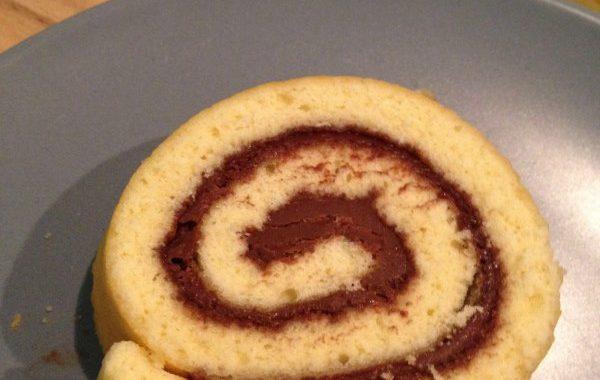 Gâteau roulé au Nuttela