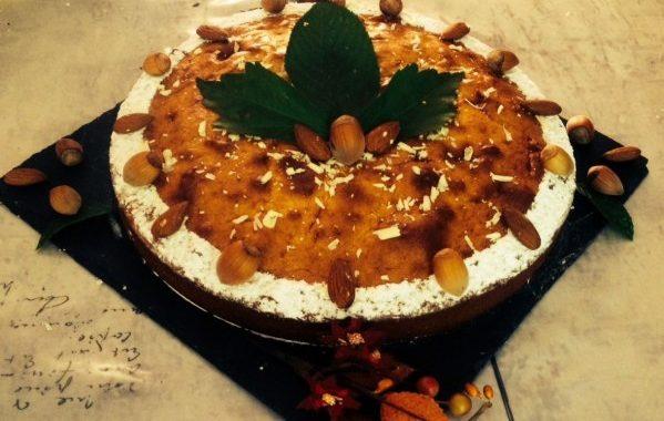 Gâteau moelleux au chocolat blanc