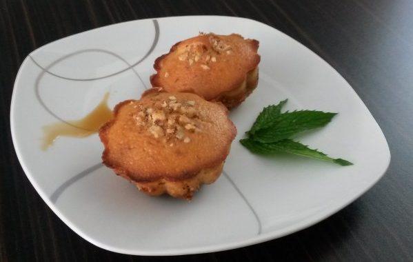 Muffins au sirop d'érable et noix de pécan
